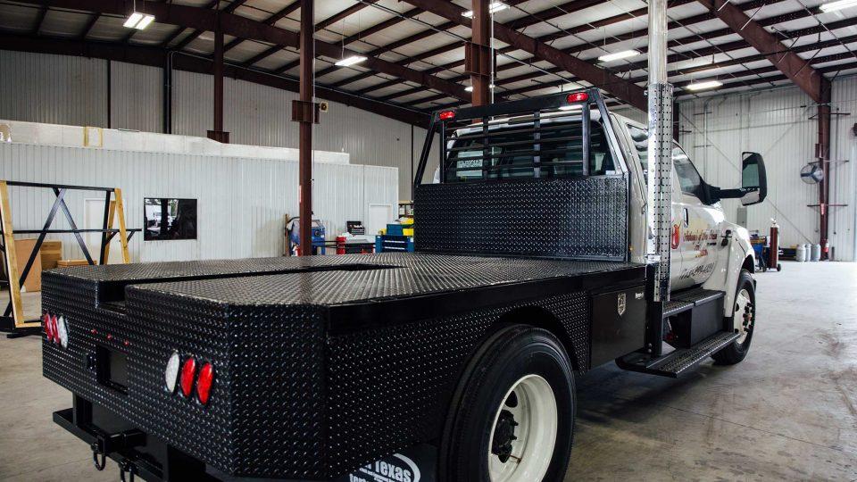 Custom Flatbed Truck